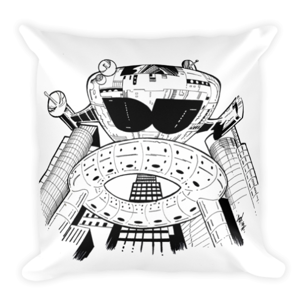 DU Starship Pillow