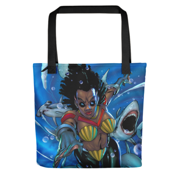 Drexciya: Shark Woman Tote bag