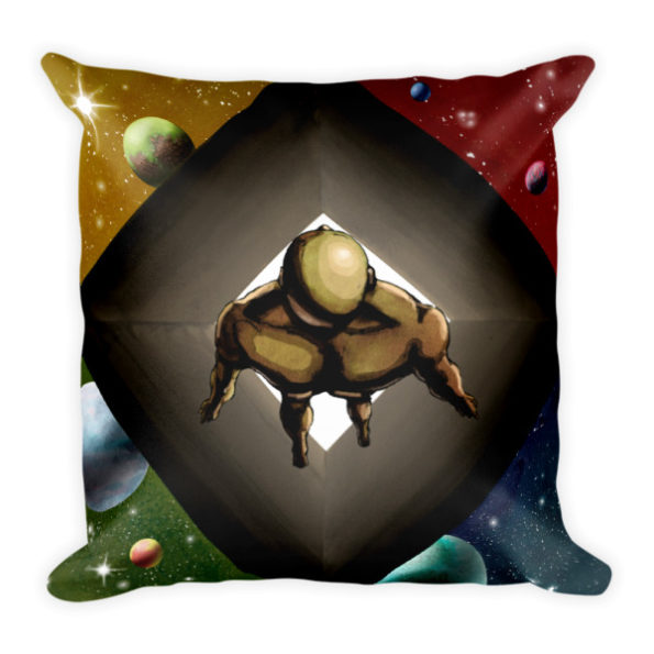 Multiverse Square Pillow