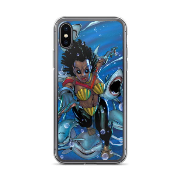 Drexciya: Shark Woman iPhone Case