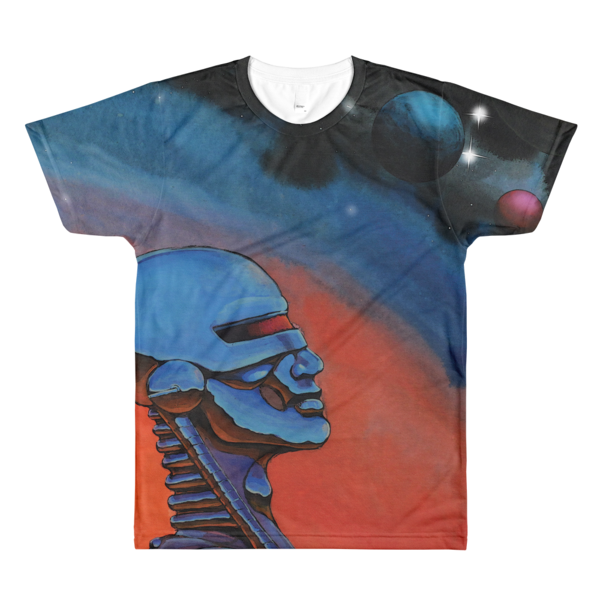Derek Carr – Contact • All-Over Printed T-Shirt