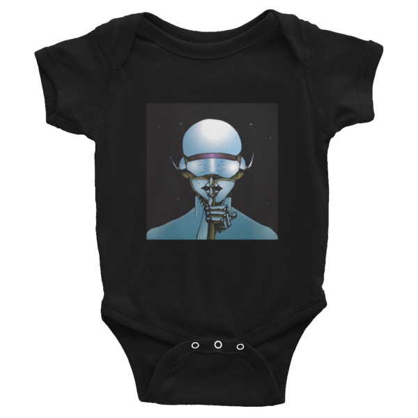Muse of Silence Infant Bodysuit