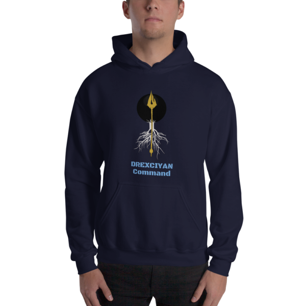 Drexciyan Command Hooded Sweatshirt