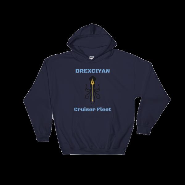 Drexciyan Cruiser Fleet Hooded Sweatshirt