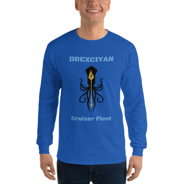 Drexciyan Cruiser Fleet Long Sleeve T-Shirt