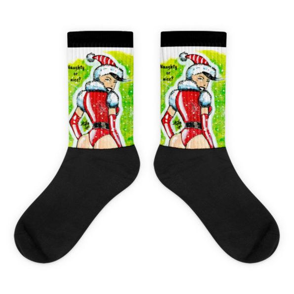 Santas Helper Socks