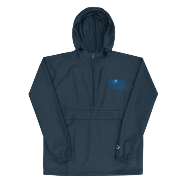 The Drexciyan Empire Embroidered Champion Packable Jacket