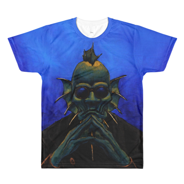 Drexciya: Doctor Blowfin All-Over Printed T-Shirt