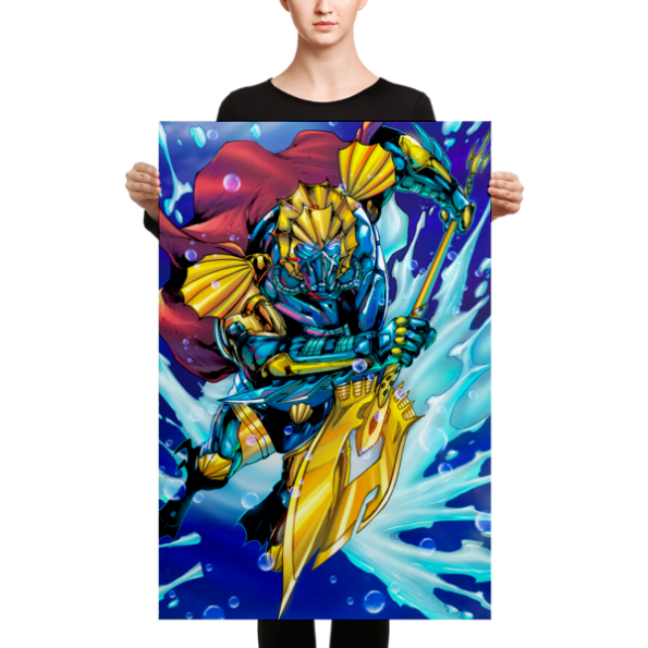 Drexciya: The First Warrior King Canvas