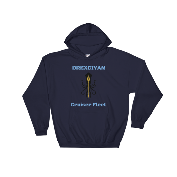 Drexciyan Cruiser Fleet Hooded Sweatshirt