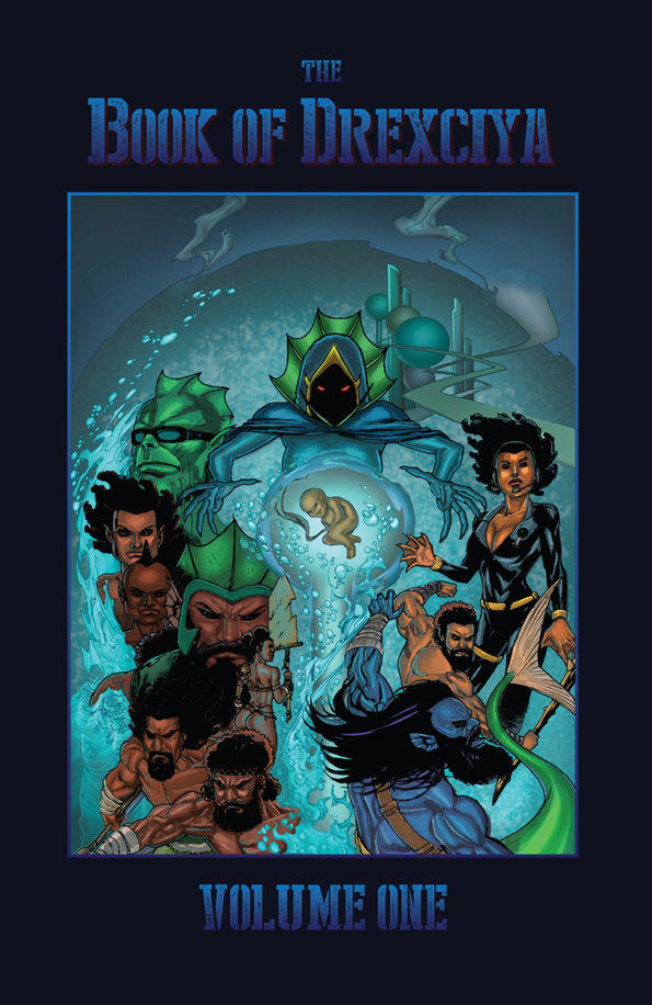 The book of drexciya volume 1 graphic novel