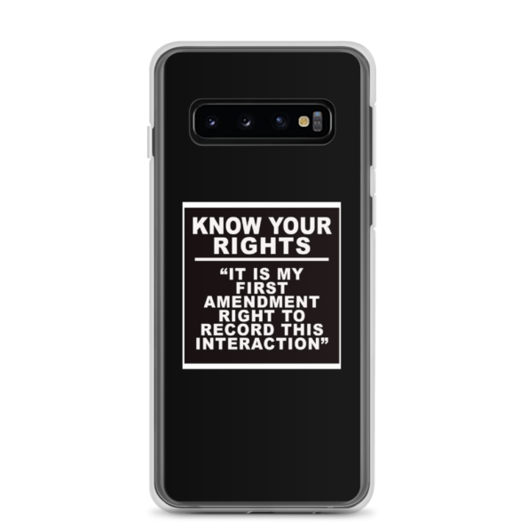 KNOW YOUR RIGHTS – Android Cases