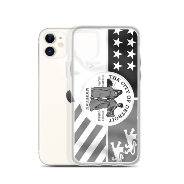 Detroit Flag iPhone Case