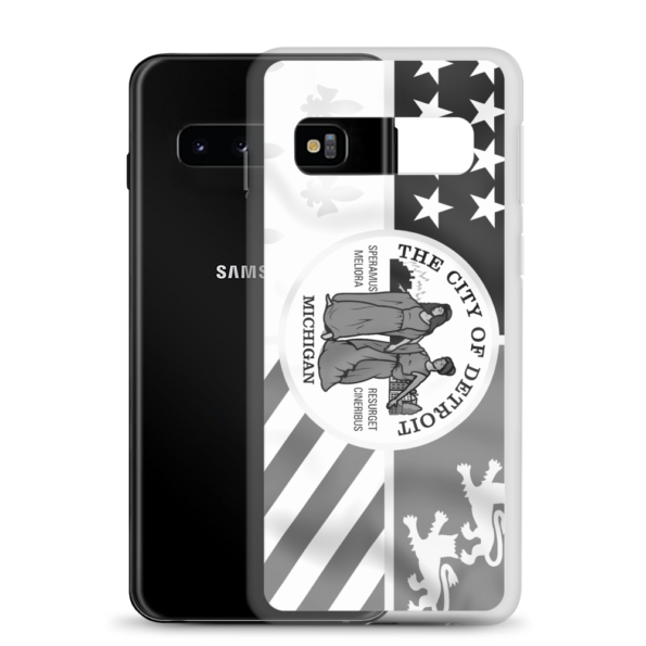 Detroit Flag Samsung Case